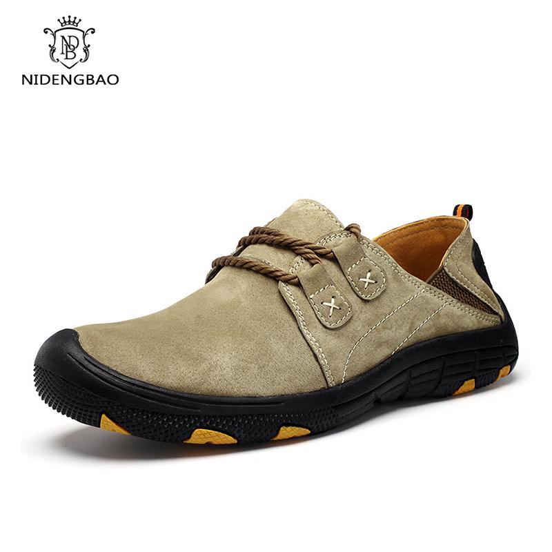 Flats Sneakers Dropshipping yukarı Deri Erkek Günlük Ayakkabılar İlkbahar Sonbahar Moda Oxford ayakkabı erkekler Erkek Klasik Moda Erkek Dantel