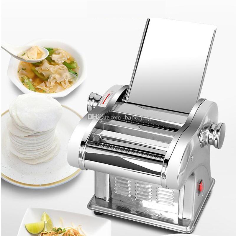 Noodle elétrica Imprensa máquina de macarrão elétrico que faz a máquina, máquina de macarrão, máquina de corte de macarrão, rolo de massa para uso doméstico
