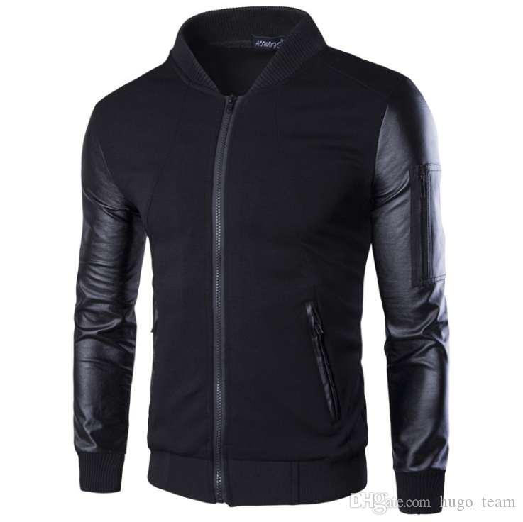Outono e casaco de inverno homens jaquetas homens casacos causais mens Lightweight Casacos quentes roupas para homens Hot Sale