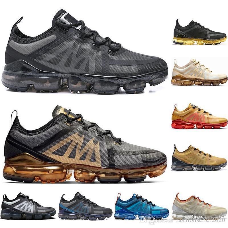 con los calcetines nueva calidad superior de los zapatos corrientes de la mosca Racer Negro gris voltios de aluminio azul tamaño fresco atlética al aire libre las zapatillas de deporte 36-45