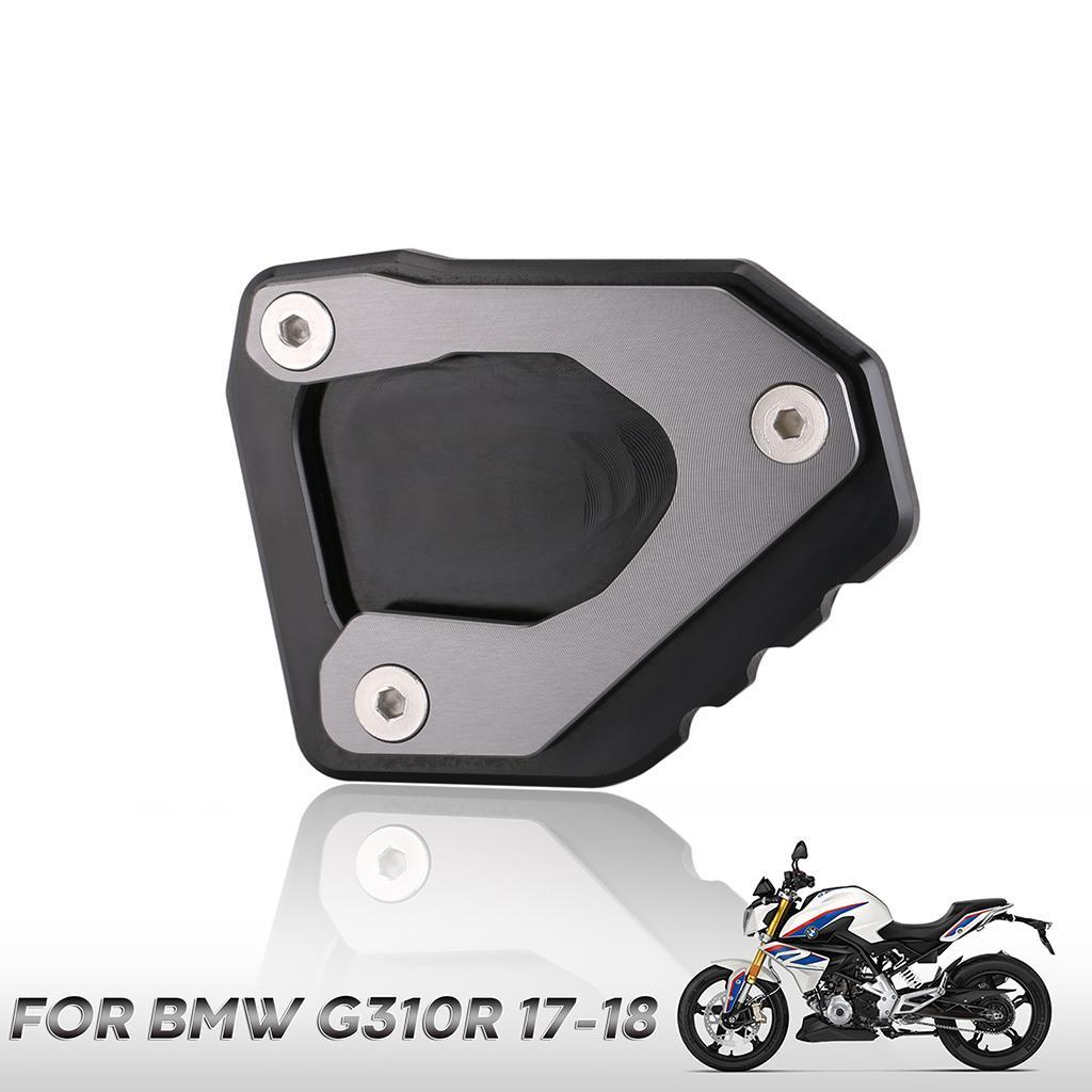 Motocicleta Pata De Cabra Lateral del Pie Base De Extensi/ón Pad Soporte De La Placa//Fit For BMW F800R F800S F800ST F800GT R1200S HP2 Sport
