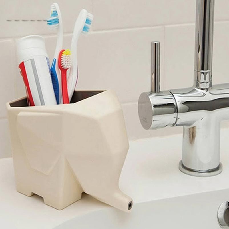 Eco-Friendly multi -Funcional Plastic Escova quadro Cozinha Organizador Louça prateleira colher Titular Caixa de armazenamento