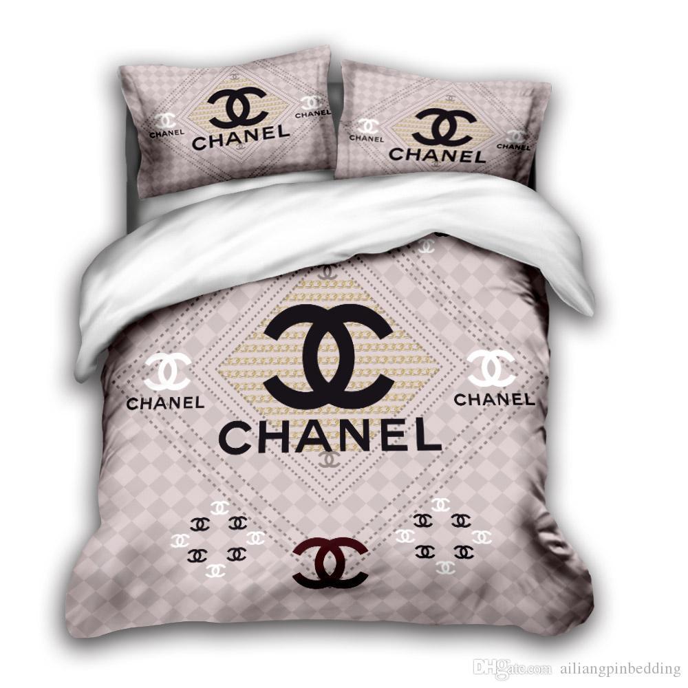 3D designer bedding sets king size luxury Quilt cover pillow case queen size duvet cover designer bed comforters sets H4