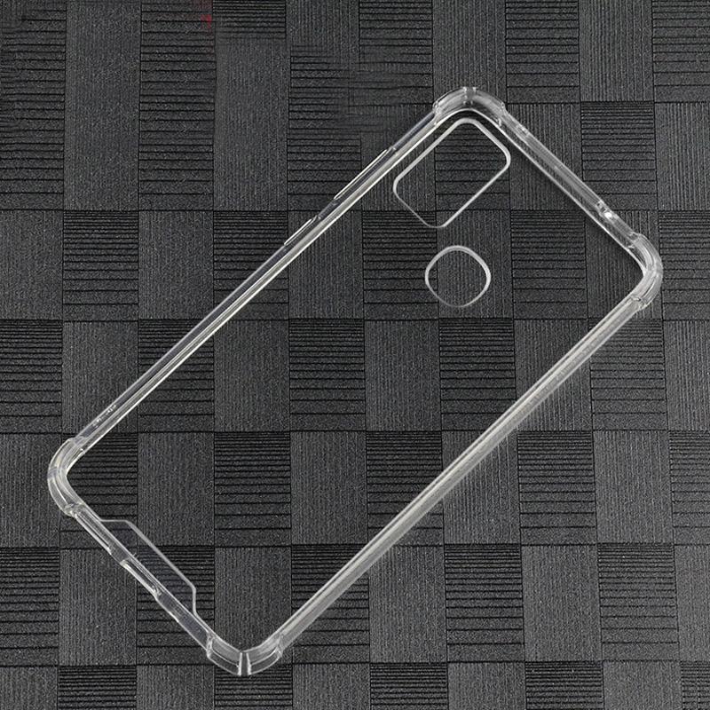 Fit Stoß- Transparent PC zurück TPU Auto-Kratzer-Schutz-Fall-Abdeckung für Samsung-Galaxie M51 M31 A21S A20 A30 A20E A10S A70E
