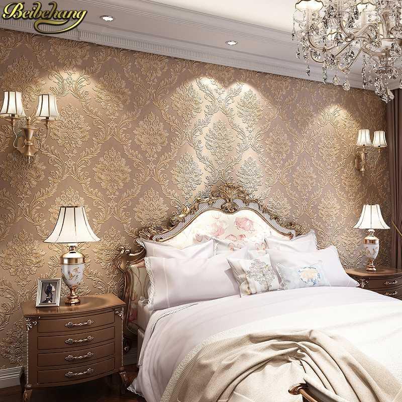 خلفية الإغاثة PAPEL دي parede 3D دمشق للجدران 3 د نوم غرفة المعيشة الحديثة جدارية ورق الجدران ورق الجدران