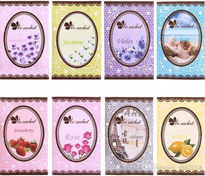 Natural multi-funcional purificadores de ar sachê para casas carro mini perfume saco diferentes fragrâncias frete grátis preço de atacado