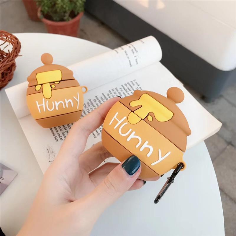 Pour AirPod Pro cas 3D Honeypot de protection en silicone pour Apple AirPod Pro Ecouteur Box Cover charge