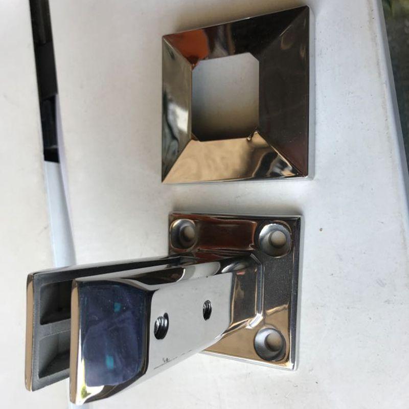1 * Stand Treppen Balkon Pool Glas Spigot Pfosten Balustrade Geländer Clamp