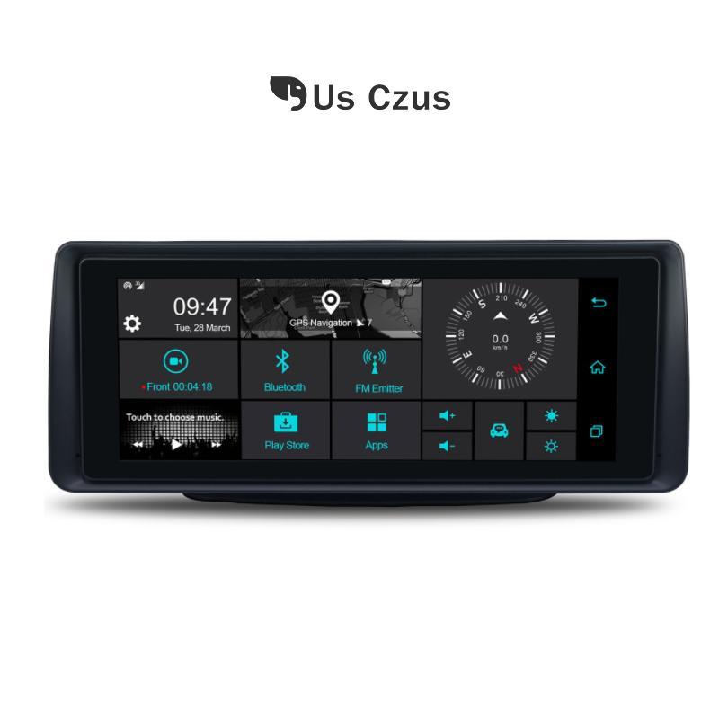 Us Czus camera car DVR auto dash cam Android 5.1 4G wifi GPS cardvr obiettivo doppio 1G DDR3 16G ROM registrar Camera