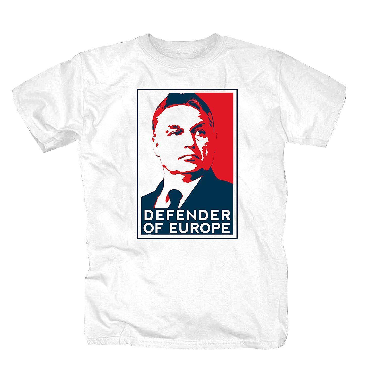 T-shirt Shirt Vorban Ungheria Ungarn Prasident Budapest Grenze Europa Fun