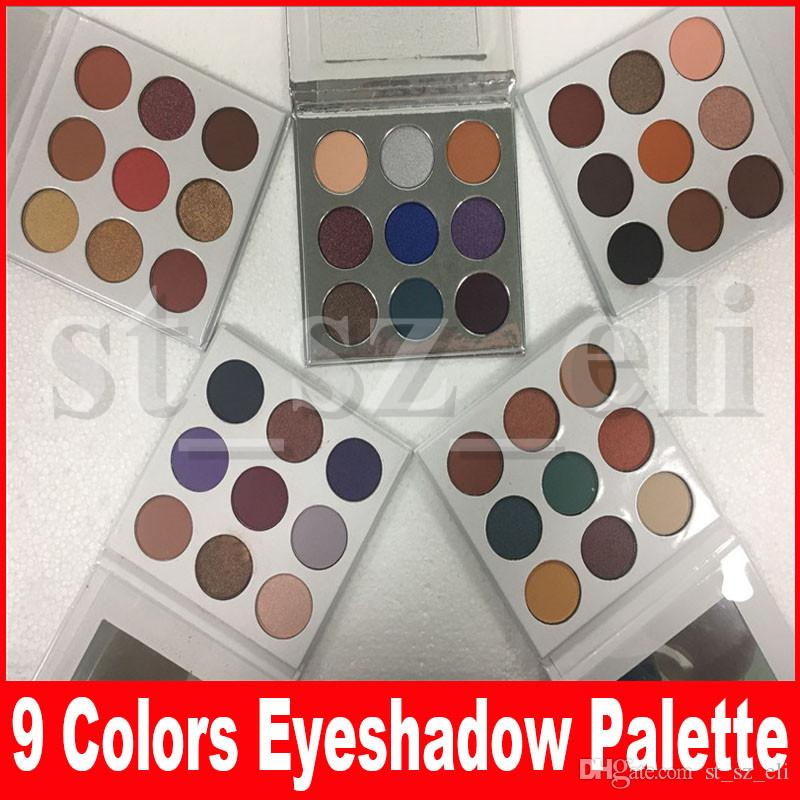 Holiday Edition eyeshadow eye shadow Palette Eye shadows blue honey purple holiday bronze Burgundy palette 9 colors