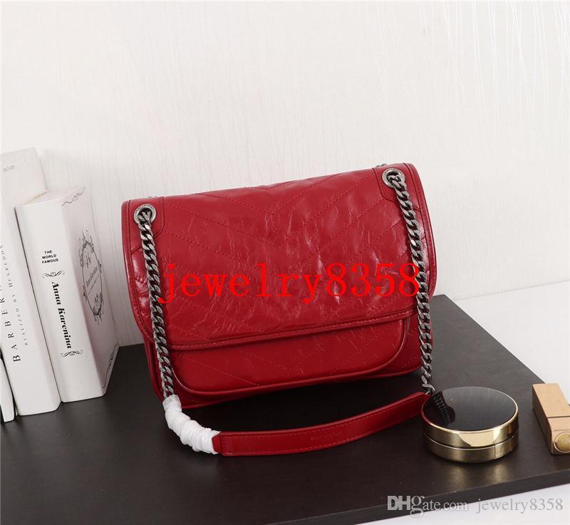 progettista di Lusso Borsa Delle Donne di scoppio Modello Borsa A Tracolla In Vera Pelle Crossbody Bag purse 7 colori
