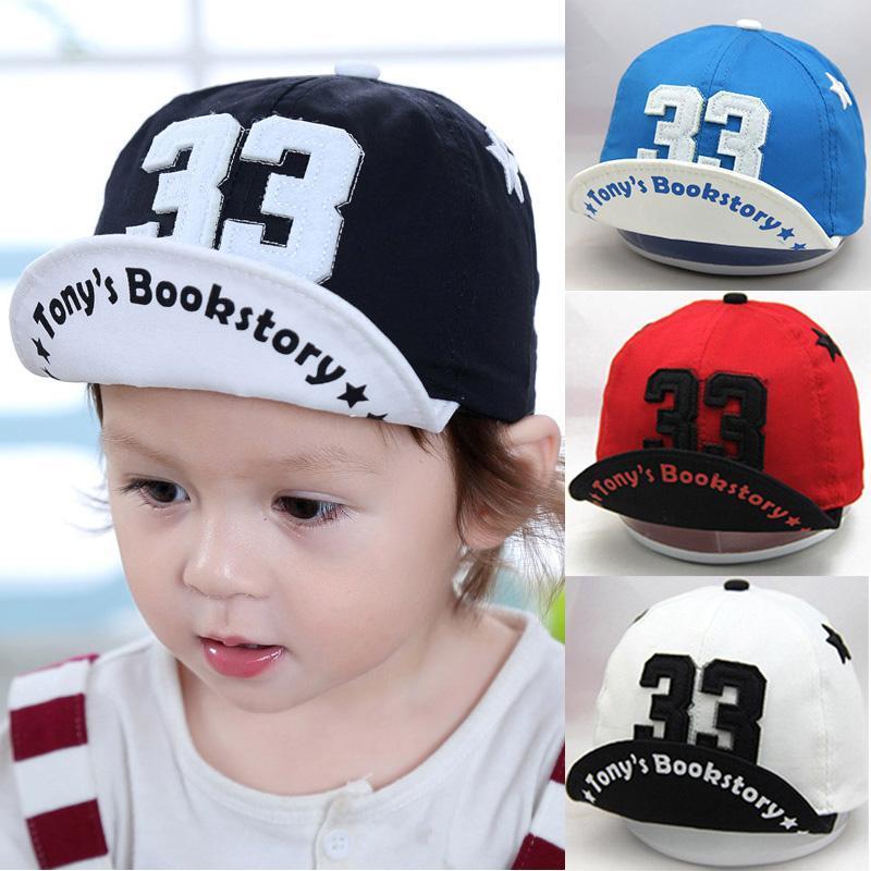 Brief-Baby-Hut-Sommer-Kappen-Kind-Baby-Jungen-Mädchen-Hut Adjustable Säuglingskleinkind-Baseballmützen Hysteresen-Kind Sonnenhut Bonnet Enfant JDVSe