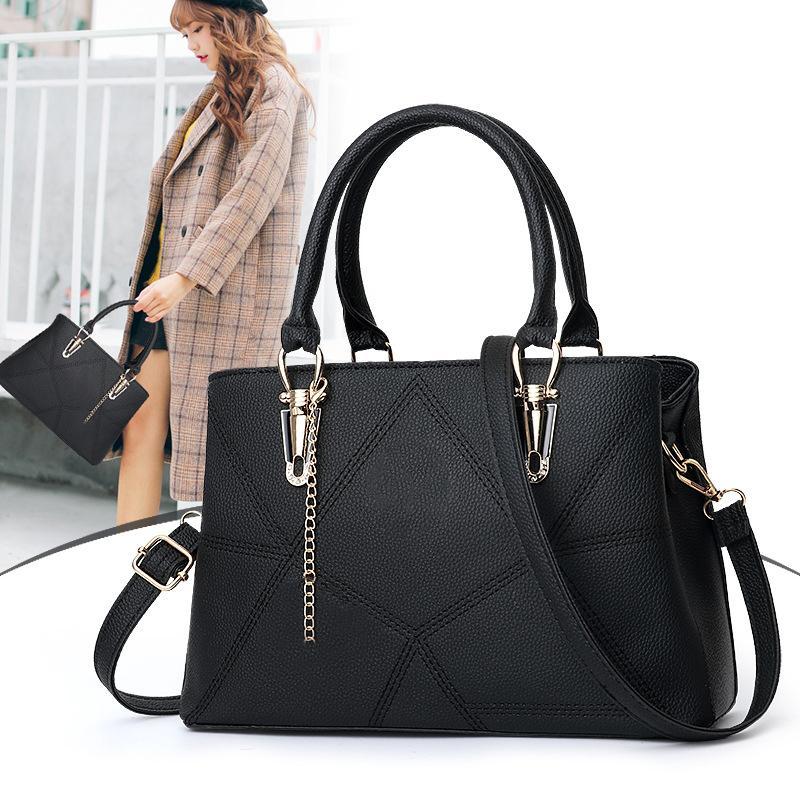 Marke designer große designer damen umhängetasche handtaschen für frauen eimer geldbörse pu leder große kapazität top-griff taschen