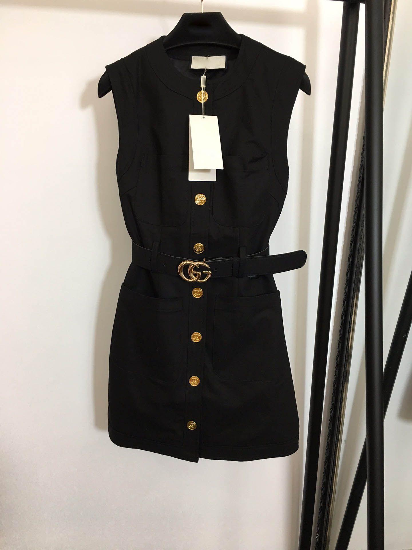 donne finiscono ragazze alte cady giubbotto lettera doppia abito camicia cintura patchwork monopetto maniche a-line del pannello milan abiti fashion design