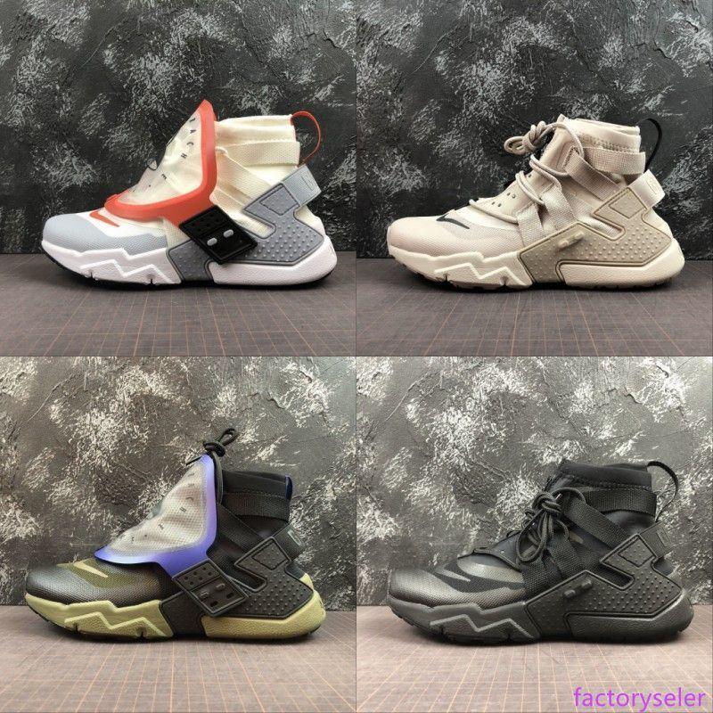 Nouveau Huarache Gripp QS Ultra Hommes Chaussures de course pour hommes huraches Huaraches formateurs sport haute hurache Designer Sneakers Taille 36-45