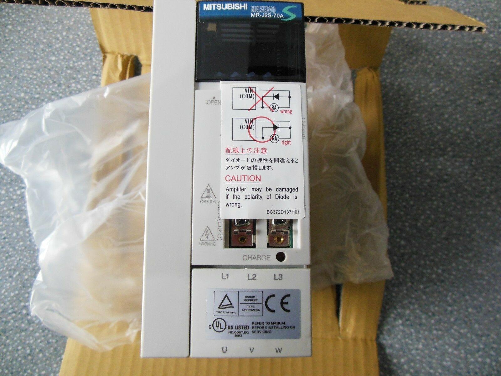 1PC Mitsubishi Servo Drive MR-J2S-70A MR-J2S-70B New In Box Free Expedited Shipping