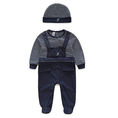 Hohe Qualität der neuen netten Babyspielanzug Overall bequeme Kleidung für Neugeborene 0-24 m Baby neugeborenes Baby Kleidung tragen