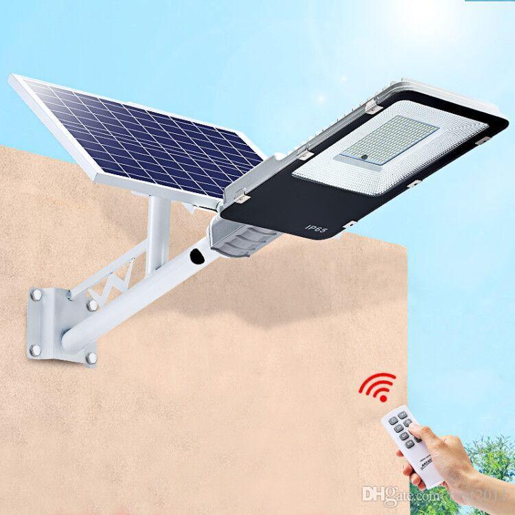 Led Solar Street light 20W 40W 70W 100W 200W Outdoor Led Wall Light Waterproof Solar Panel Remote Control Street Garden Light