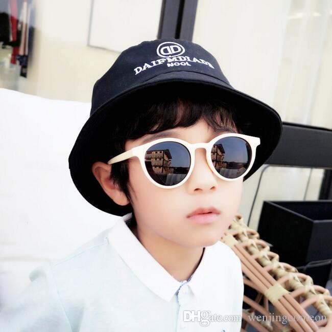 Set Kids Polarised Sunglasses Baseball Hat Cap Boy Girl Glasses UV400 Children