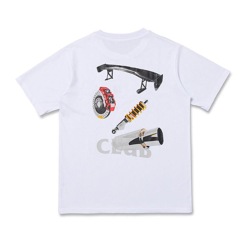 أزياء الرجال المصمم T قميص الصيف النساء الرجال التي شيرت عالية الجودة أسود أبيض T تيز قميص حجم S-XL