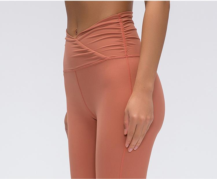 HISIMPLE 2020 Classical 3.0 Version Soft Naked-feel Workout Gym Yoga Tights Women Squatproof High Waist Fitness Sport Leggings XS-L