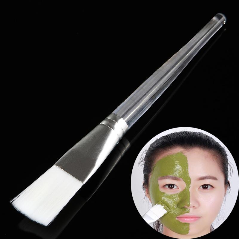 Masque facial clair Brosse douce Fibre Visage Nez Oeil Pâte Hydratante Pâte Boue Cosmétique Crème Liquide DIY Revêtement Outil De Traitement De Beauté
