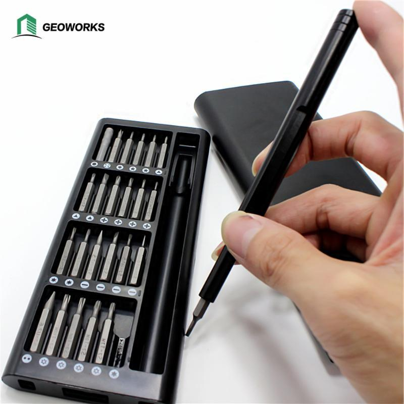 24 In 1 Schraubendreher Set Präzision Mini Schraubendreher Bits Kit Telefon Computer Labtop Kamera Wartung Reparatur Werkzeuge