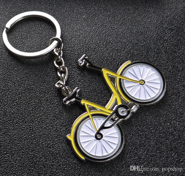 Желтый цвет Sharing Мобильный велосипед брелок Брелок Брелок кольцо Мужчины брелок 2018