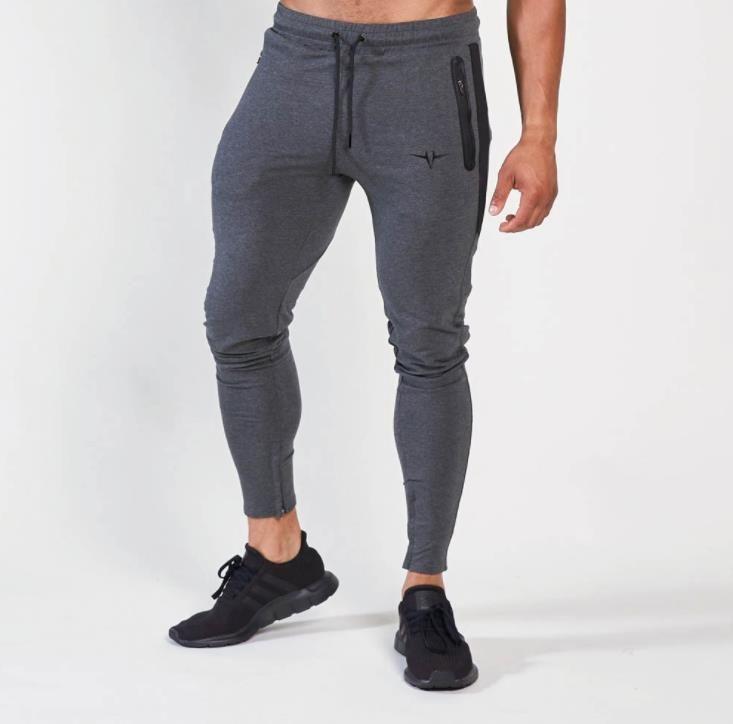 Plus Size Mens Sweats Fashion Designer Mens Gym Pants Casual Elastic Waisted Drawstring Mens Slim Pants