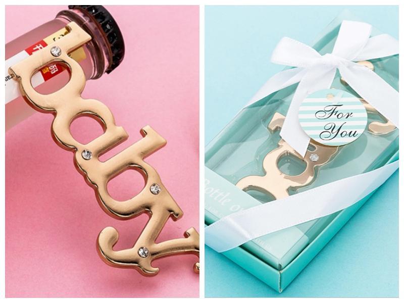 (20PCS / LOT) هدية الطفل Receiption لضيوف BABY زجاجة تصميم الهدايا فتحت للطفل تفضل دش عيد الميلاد والهدايا والديكور حزب