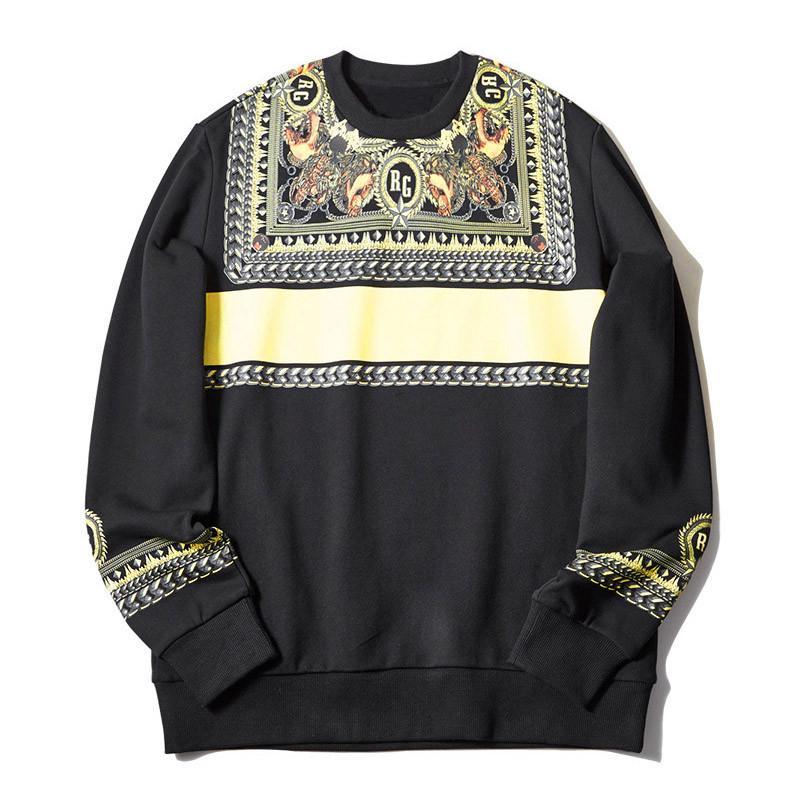 19FW à capuche pour hommes Sweat-shirts Mode d'impression de haute qualité Casua Hommes Femmes Sweats à capuche unisexe Chemises à manches longues Taille de S-2XL
