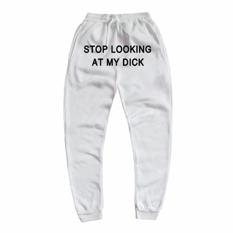 Pantalones de deporte Hombres Mujeres pantalón Joggers Hip Hop Imprimir Pantalones de Calle Larga Pantalones gimnasios de entrenamiento deportivo