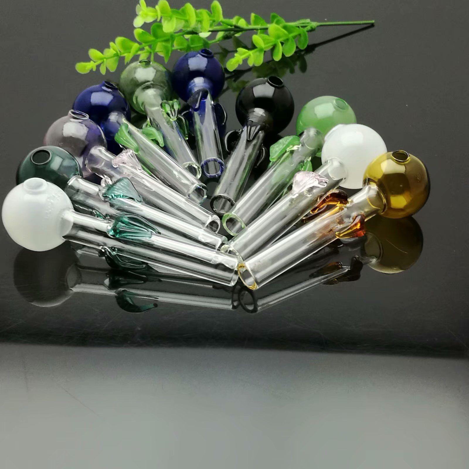 Renkli disk Çiçek Renk Kabarcık düz boru Cam su nargile Kolu Borular sigara borular Yüksek kalite ücretsiz kargo
