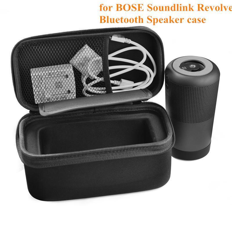 Портативный противоударный EVA дорожная сумка Easy Carry Pouch Bag для BOSE Soundlink Revolve Bluetooth-динамик черный
