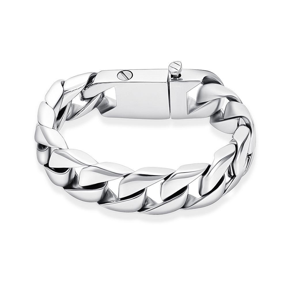 K001 Crémation Urne Bracelet pour Ashes Memorial en acier inoxydable Bracelet chaîne pour Ashes Keepsake Bijoux Bracelet