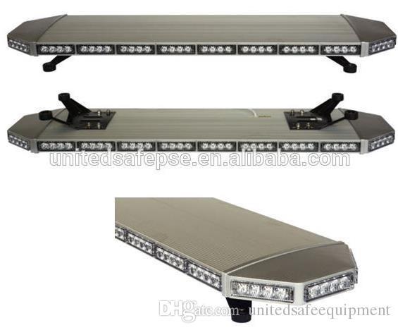 Free shipping high bright aluminum case led lightbar roof mount car flash waring strobe lightbar emergency vehicle warning lightbar light ba