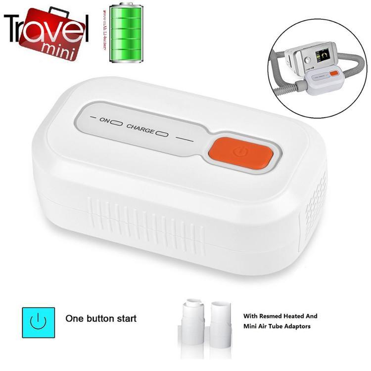 MOYEAH CPAP Temizleyici ve Temizleyici İle İki PCS Adaptörleri Havalandırma Dezenfektan Sterilizatör için CPAP APAP BiPAP Makinesi Tüp Maske