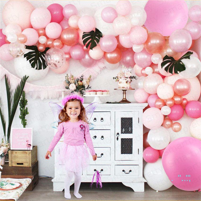 2020 Valentine's day Balloon Printed Wedding balloons Festival Party Supplies Decoration Birthday Party Balloons Kids Toys 124pcs/set E32502