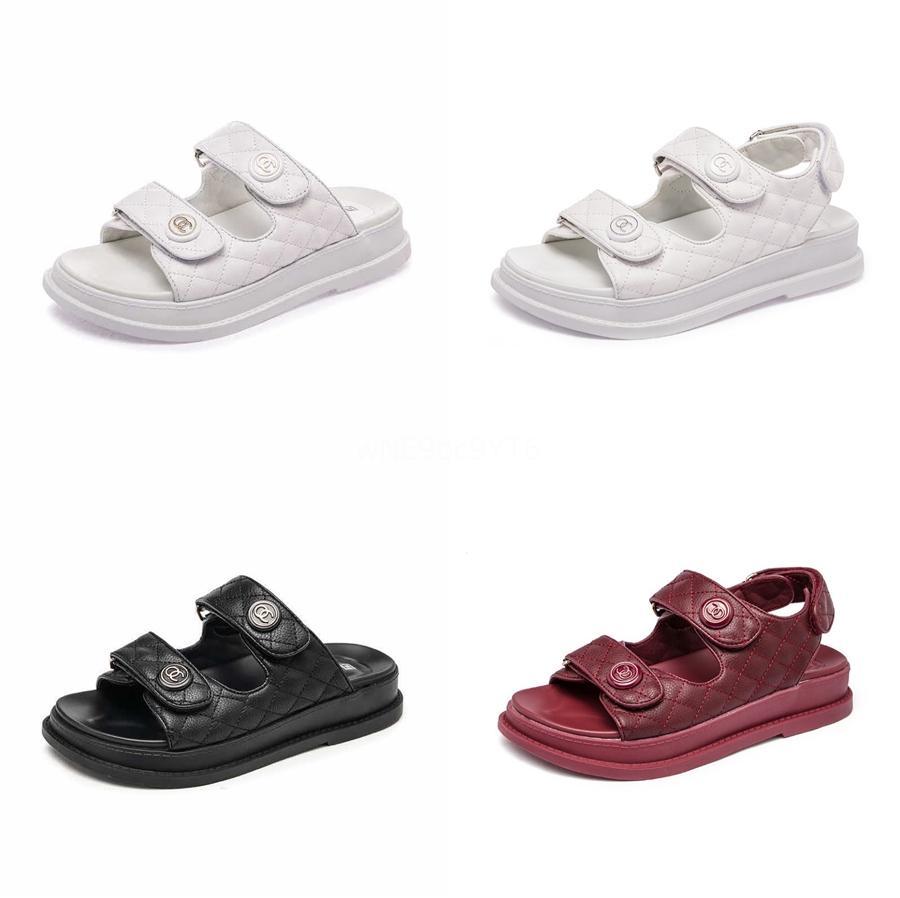 Verão Gladiadiator Sandals Mulheres 2020 Moda plana sandálias com strass Diamond Beach Shoes Mulheres Sandalia Feminina 42 43 # 461
