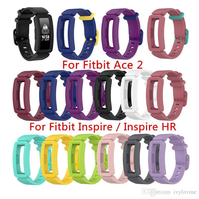 Silikonband Für Fitbit Ace 2 ACE2 Weiches Uhrenarmband Armband Für Fitbit Inspire Inspire HR Kids Smartwatch Armbandzubehör