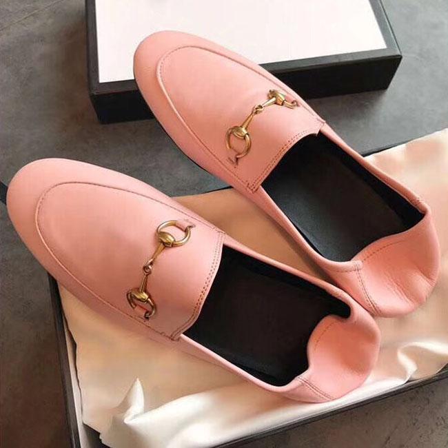 Sıcak Satış-son sıcak satış klasik bayan deri ayakkabı tasarımcısı moda bayan bayan deri sandaletler büyüklüğü 34-40 Origina