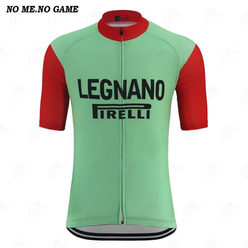 retro clássico do ciclismo homens jérsei vermelho tampas de manga curta estrada mtb desgaste bicicleta roupa verde Quick Dry Anti-suor 100% Poliéster