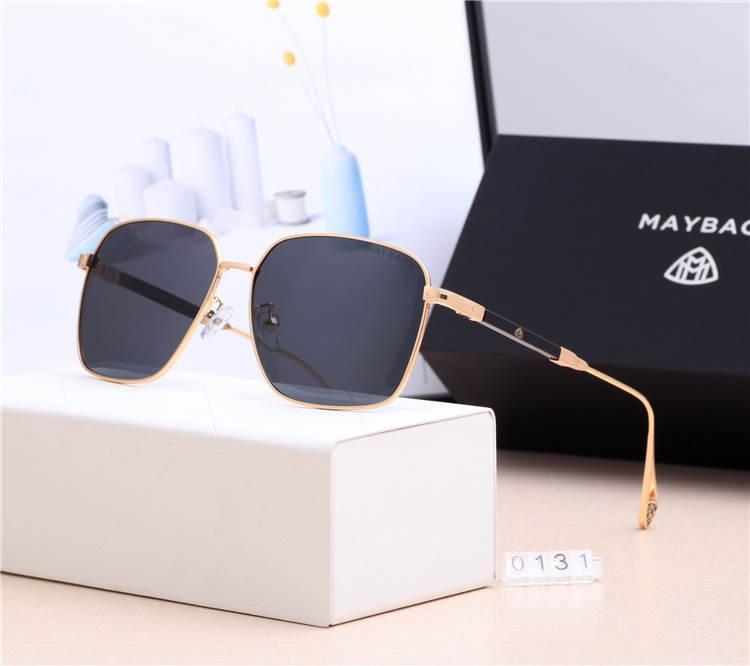 gafas de sol de lujo con hombres y mujeres gafas de sol ocasionales LOGO campaña de moda de moda de alta calidad de la personalidad única 0036