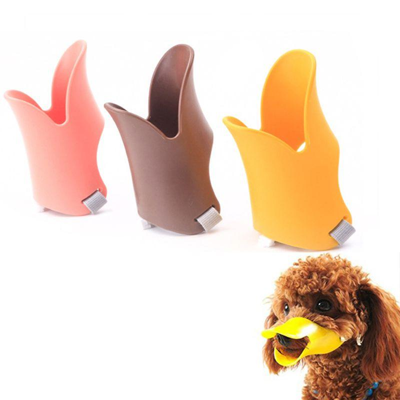 Adjustable Pet Dog Masks Anti Bite No Barking Pets Muzzle Duckbill Mouth for Small Medium Large Dog Products