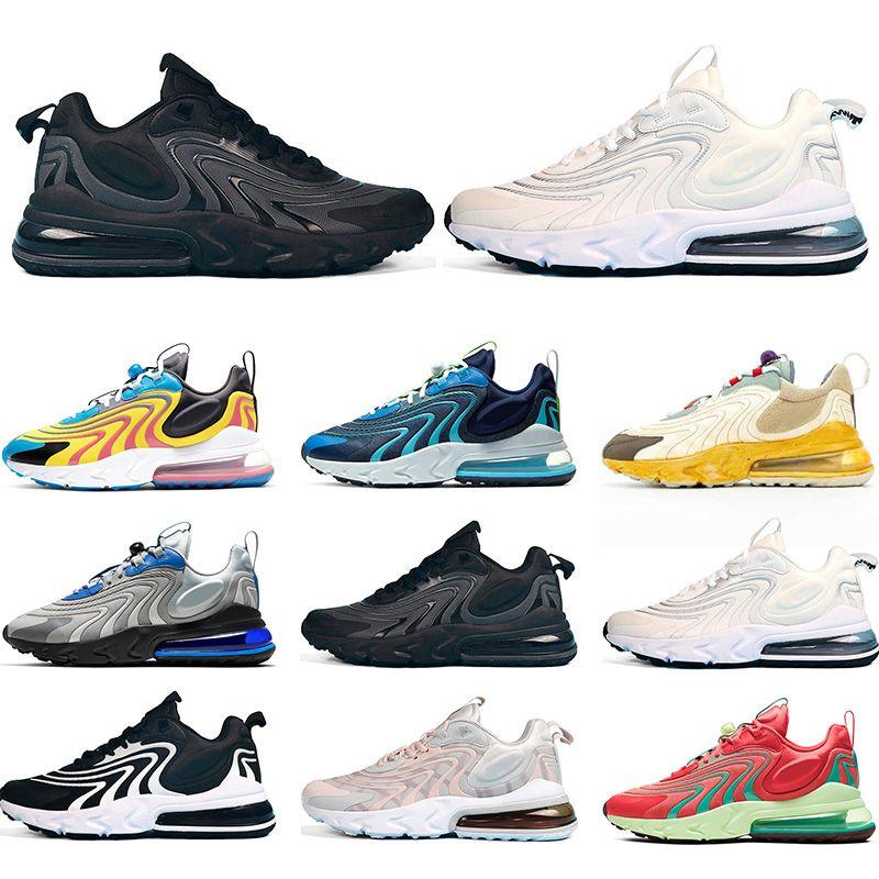 React para hombre Senderos ENG Cactus Zapatos de funcionamiento Bauhaus Triple Negro Blanco Hombres Mujeres Deportes zapatillas de deporte de la gota libre