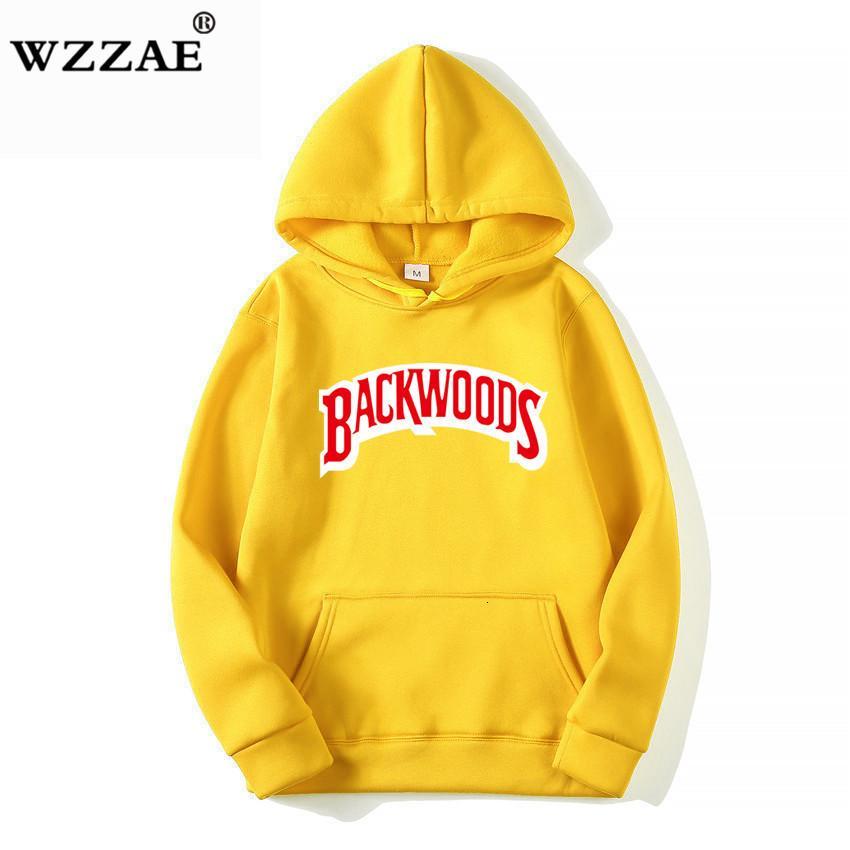 La rosca del manguito sudaderas con capucha de la selva virgen Streetwear Hombres Moda otoño invierno Hip Hop camiseta básica con capucha