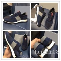 Les concepteurs BB Runaway Arena Baskets basses Chaussures anti-rides Flats en cuir Casual marche Designer Chaussures F085