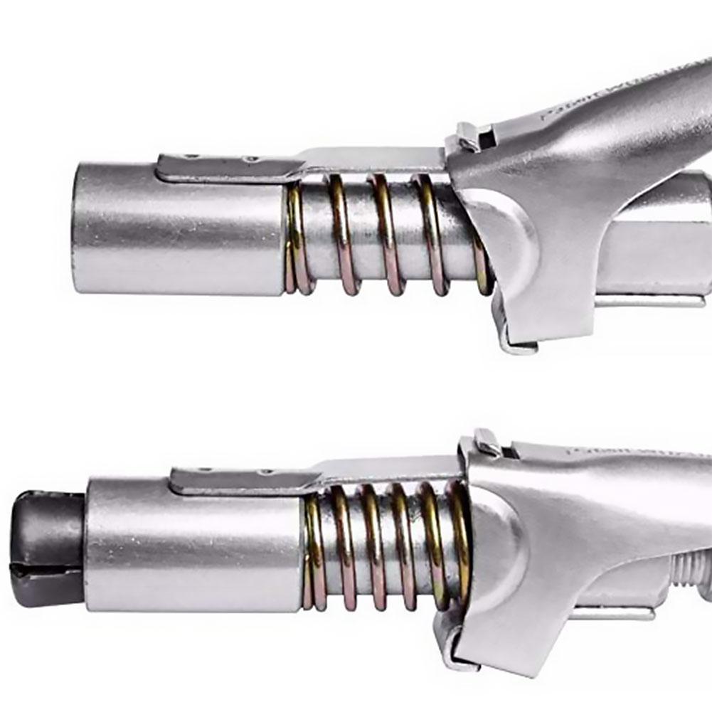 Tipo de Abrazadera de Bloqueo de Acoplamiento de Grasa de Alta presi/ón de liberaci/ón r/ápida para Pistola de engrase Acoplador de Grasa