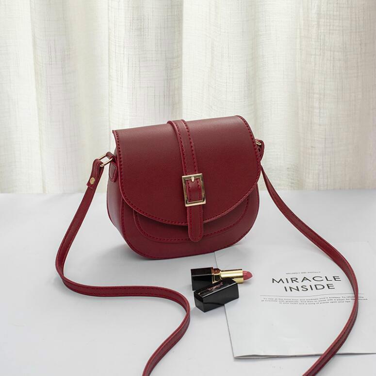 Designer Mulheres Messenger Bags Moda Simples Praça bolsa de ombro mulheres Saddle Bag Moda Atacado Designer Handbag de alta qualidade